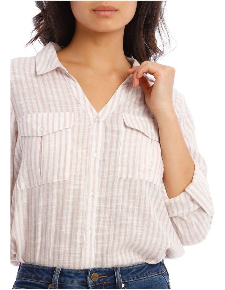 Textured Double Pocket Shirt image 4