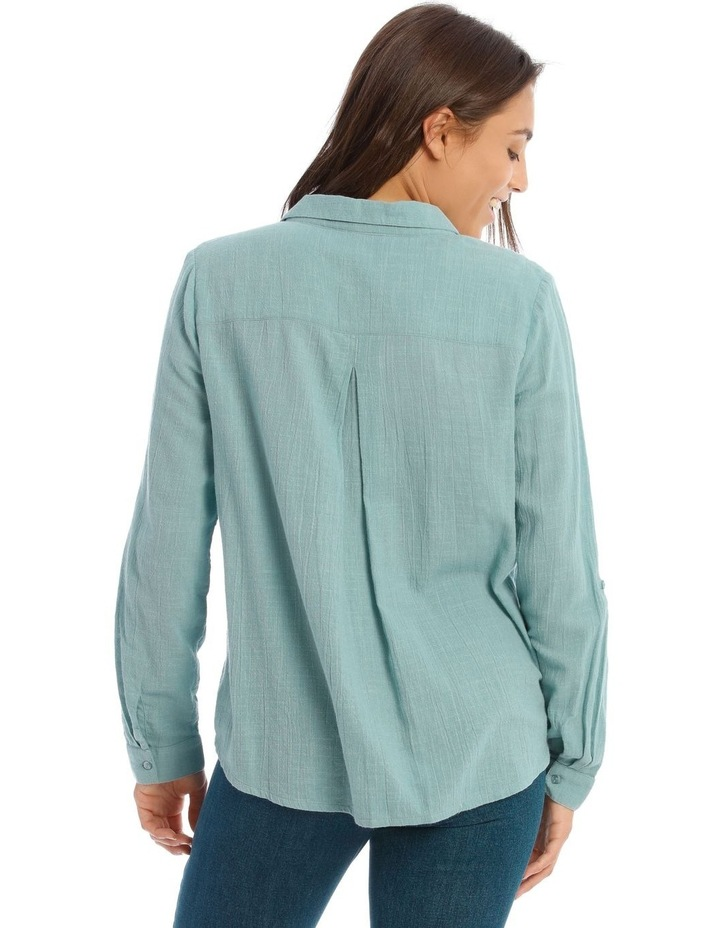 Textured Double Pocket Shirt image 3