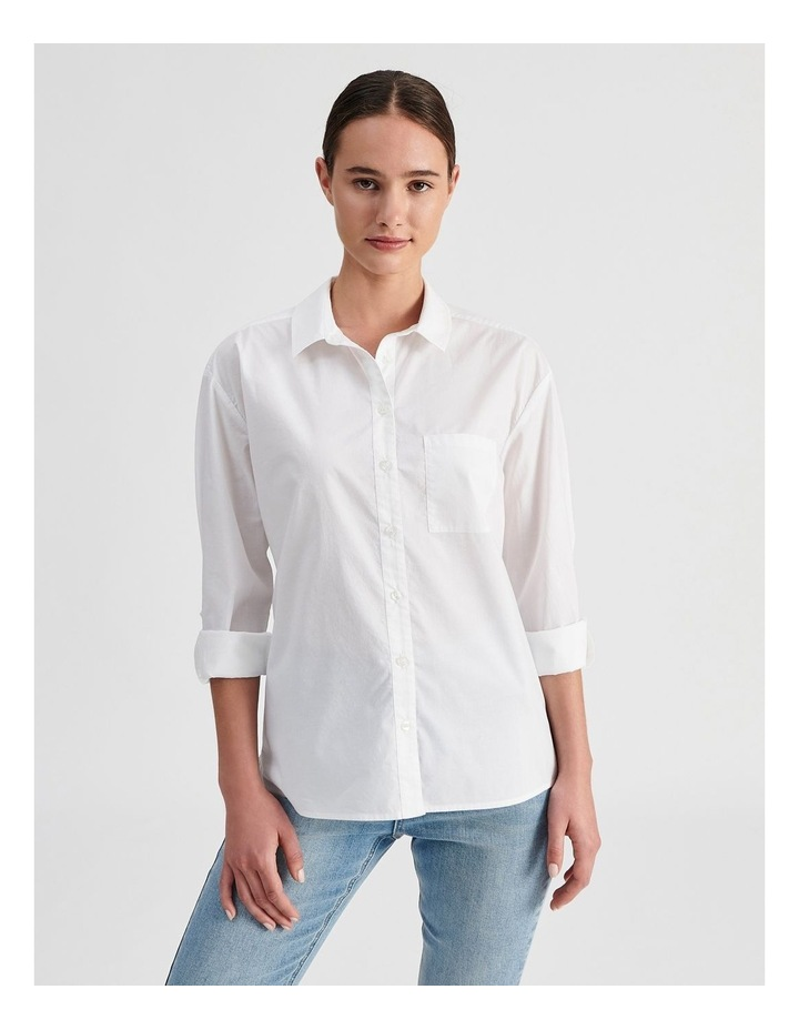 Relaxed Cotton Shirt image 1