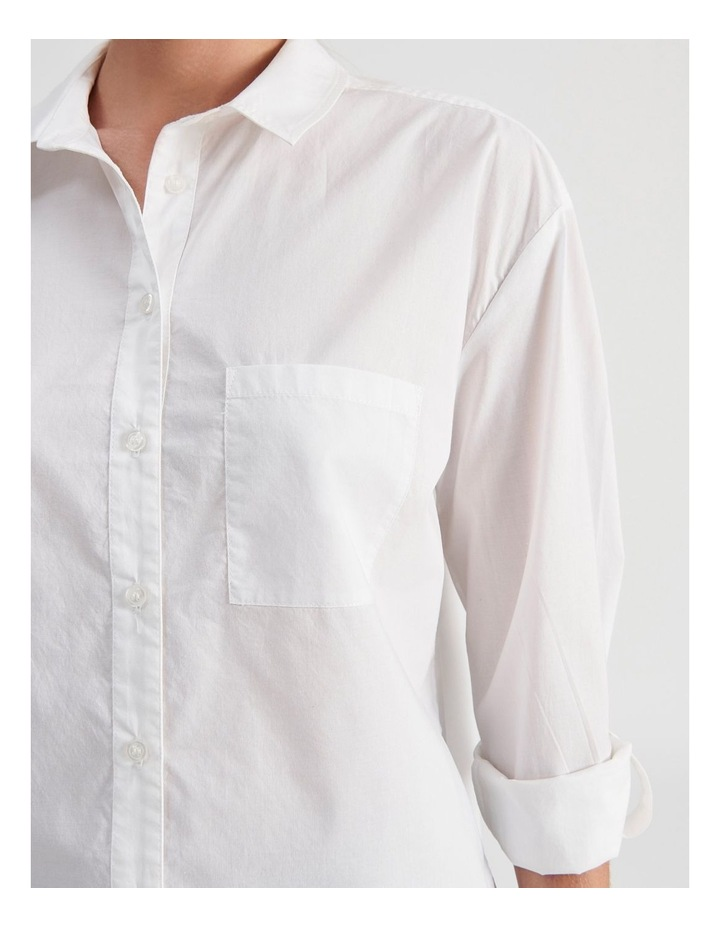 Relaxed Cotton Shirt image 5
