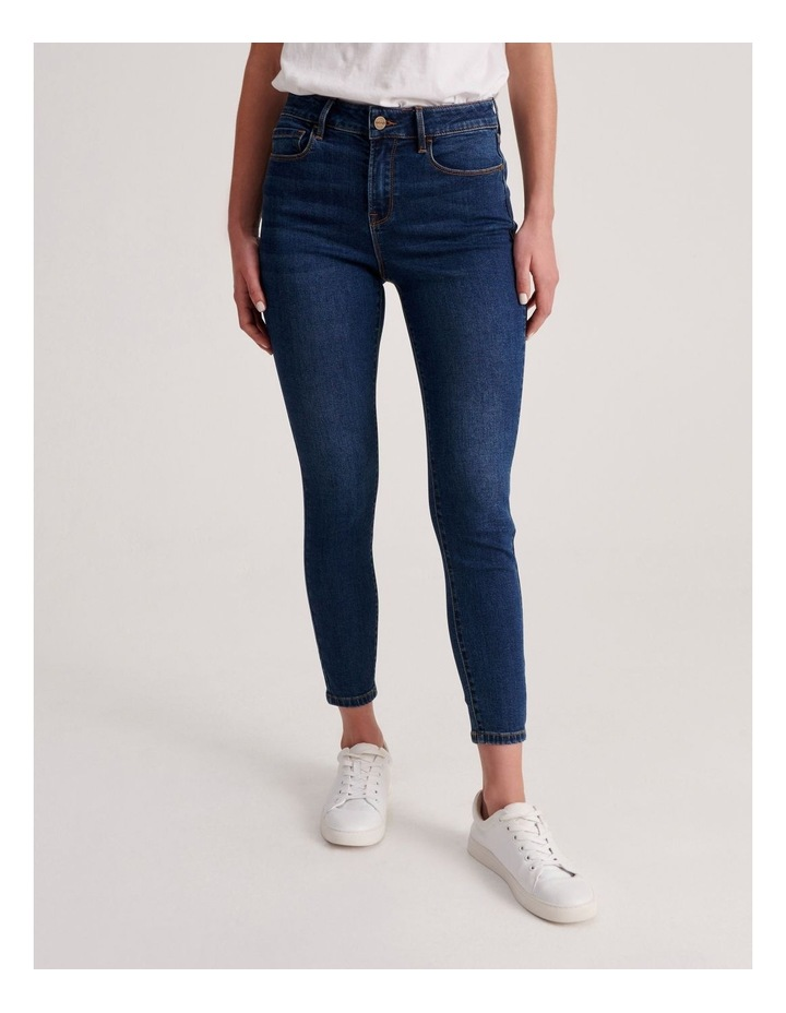Isabella 7/8 High Rise Skinny Jean image 1
