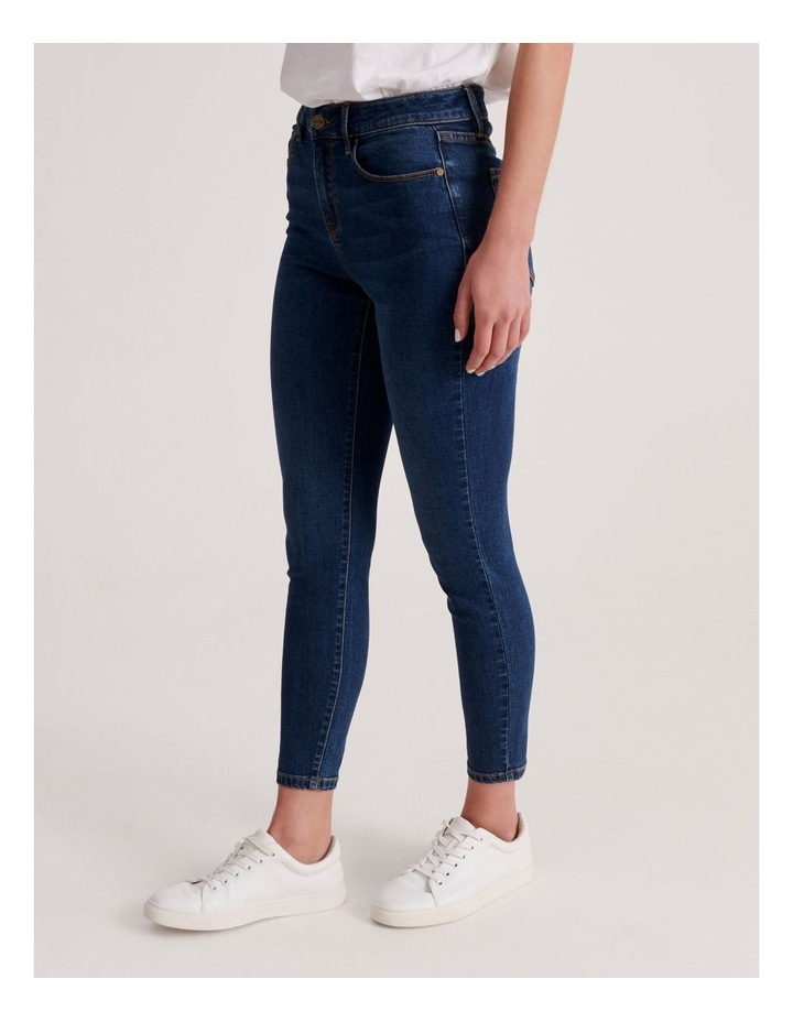 Isabella 7/8 High Rise Skinny Jean image 2
