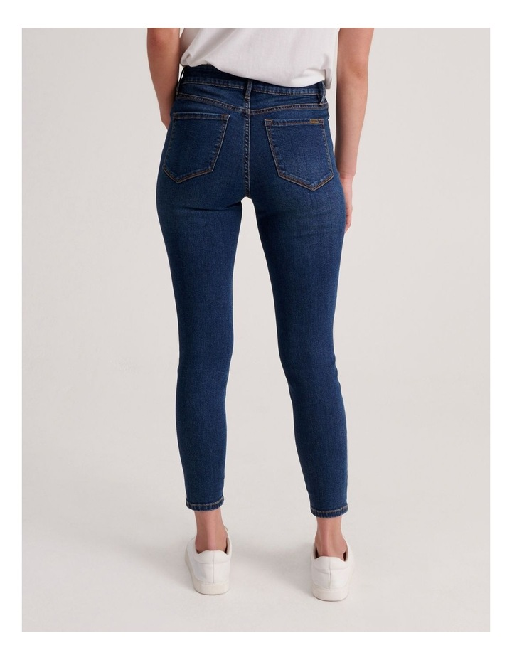 Isabella 7/8 High Rise Skinny Jean image 3