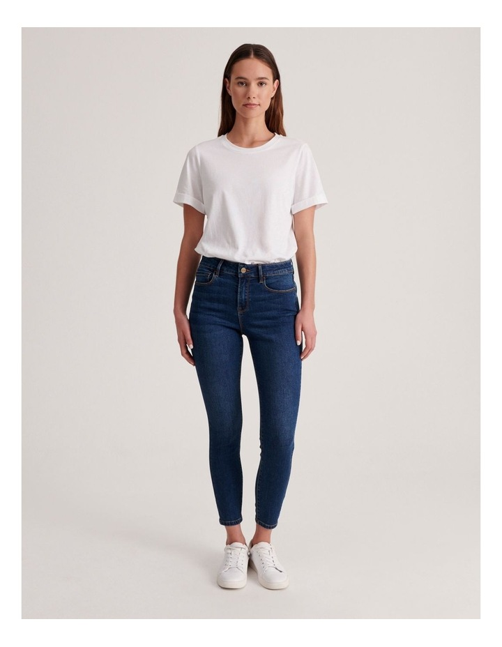 Isabella 7/8 High Rise Skinny Jean image 4