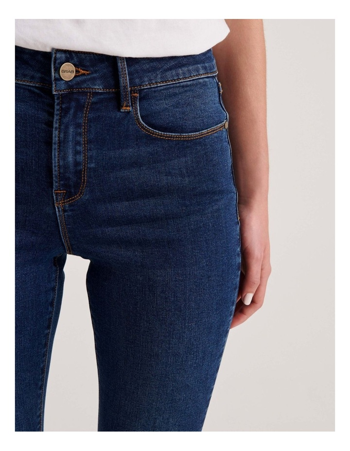 Isabella 7/8 High Rise Skinny Jean image 5