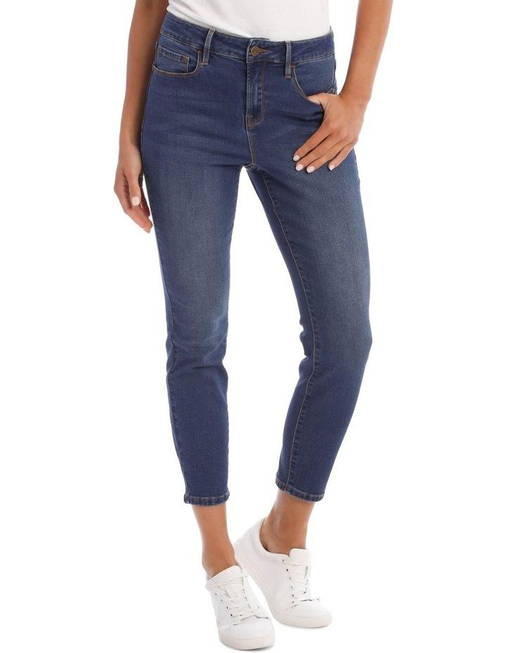 Isabella 7/8 High Rise Skinny Jean image 1