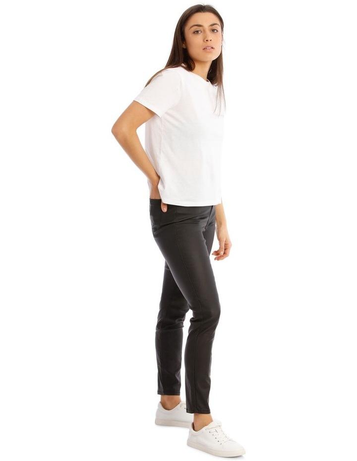 Coated High Waist Skinny Jean image 2
