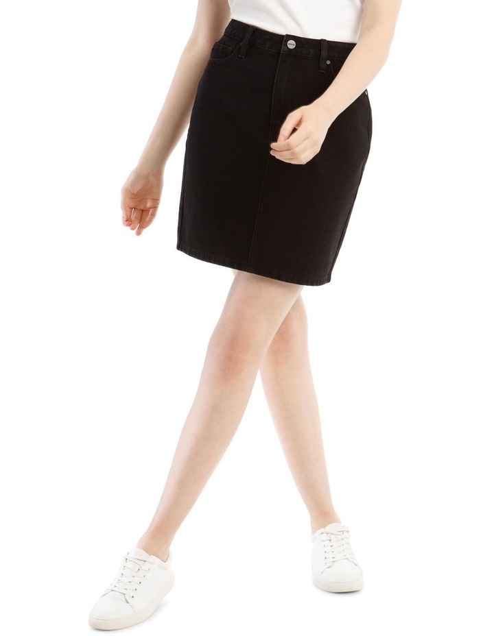 Straight Denim Skirt image 1