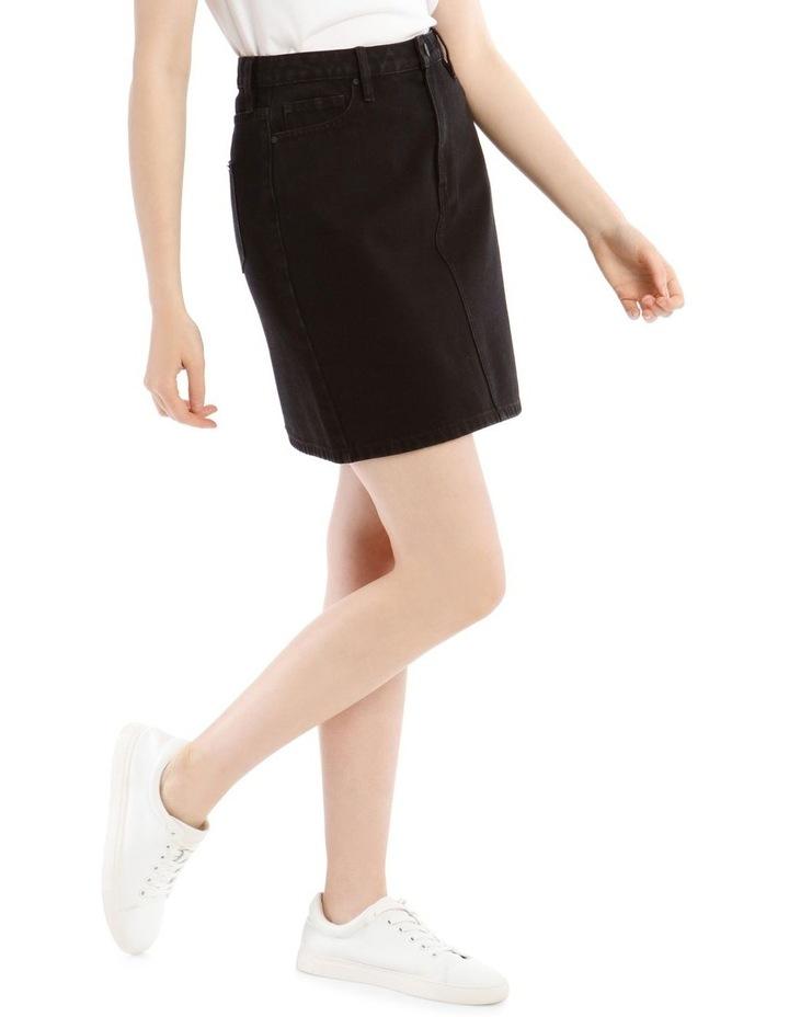 Straight Denim Skirt image 2
