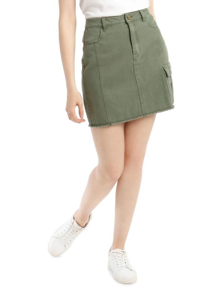 Utility Denim Skirt image 1