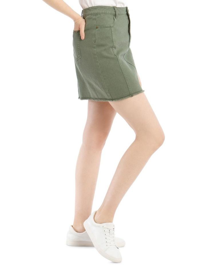 Utility Denim Skirt image 2