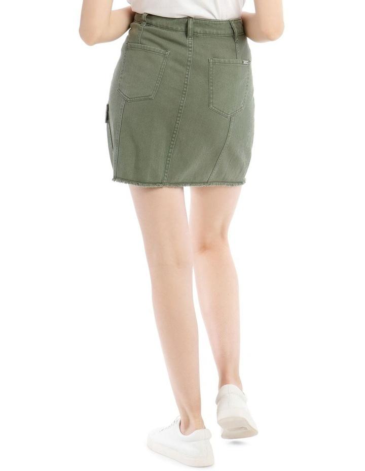 Utility Denim Skirt image 3