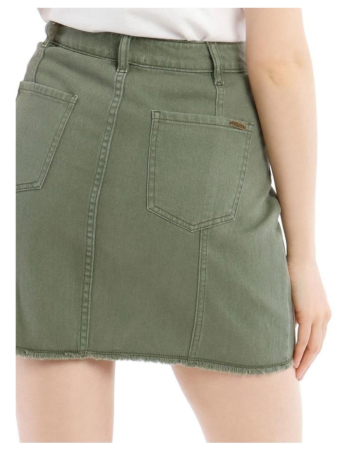Utility Denim Skirt image 4