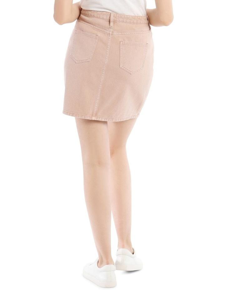 Straight Denim Skirt image 3