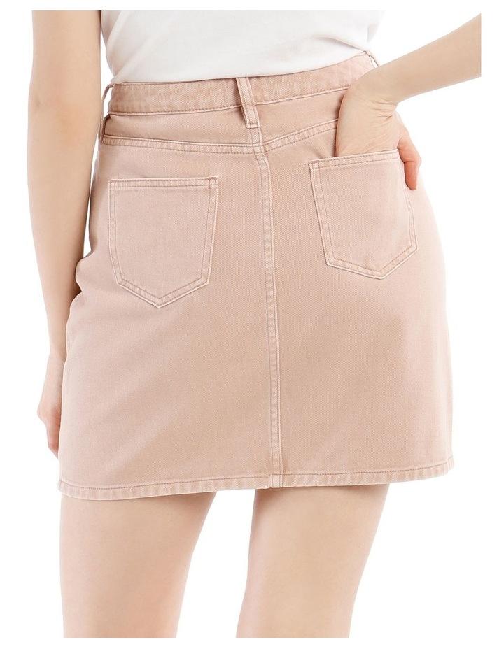 Straight Denim Skirt image 4