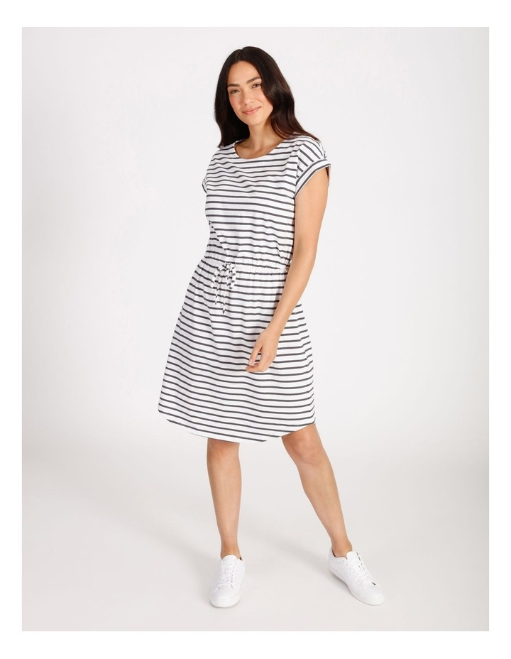 Tie Waist T-Shirt Dress image 1