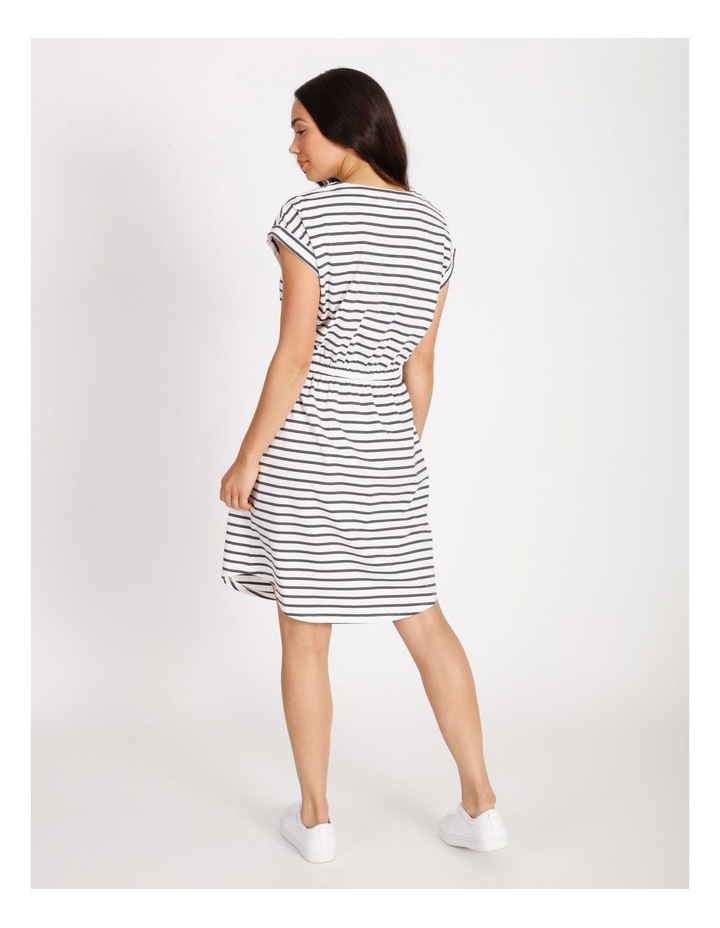 Tie Waist T-Shirt Dress image 3