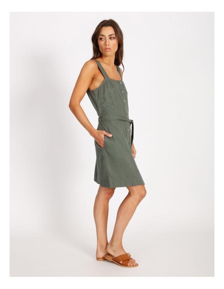 Button Through Denim Dress image 2