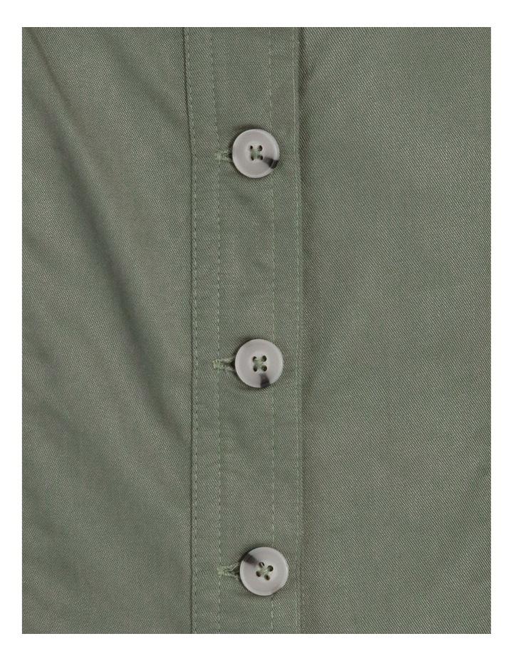 Button Through Denim Dress image 5