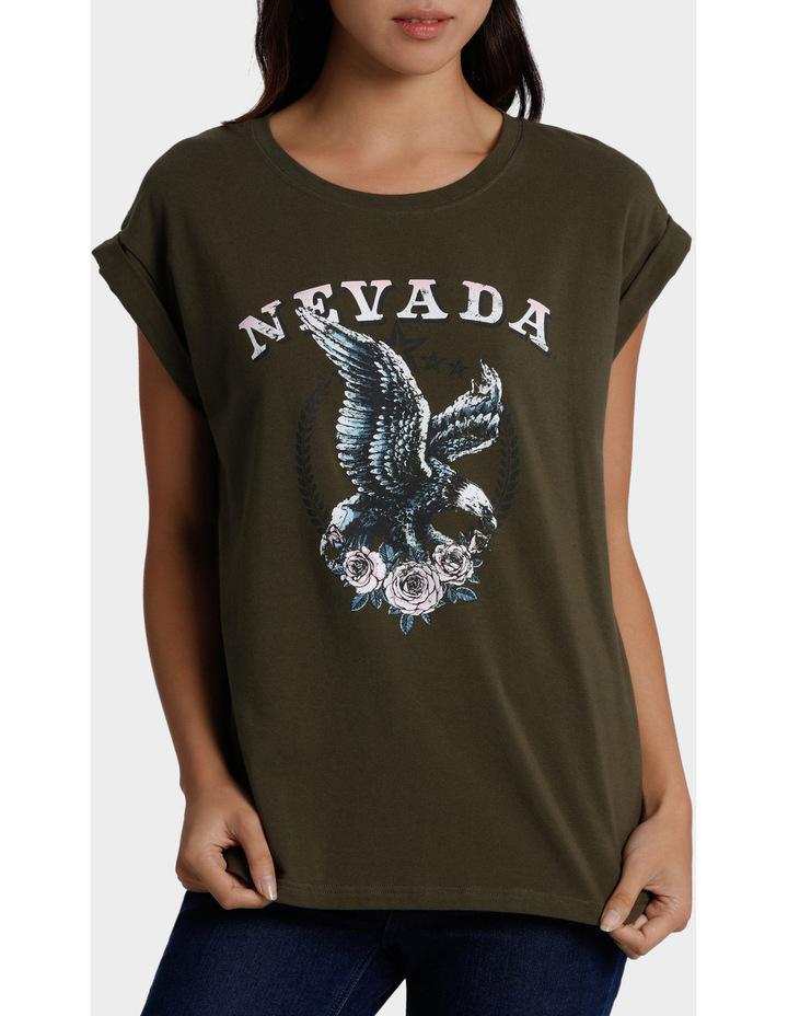 Nevada Eagle Print Tee image 1
