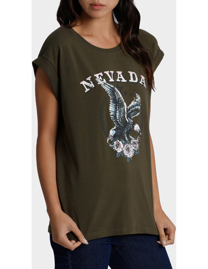 Nevada Eagle Print Tee image 2