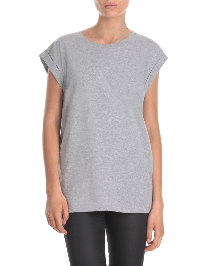 Boyfriend Roll Sleeve T-Shirt image 1
