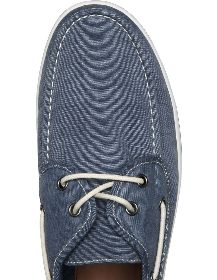 Mens Dustin Canvas Boat Shoe image 4