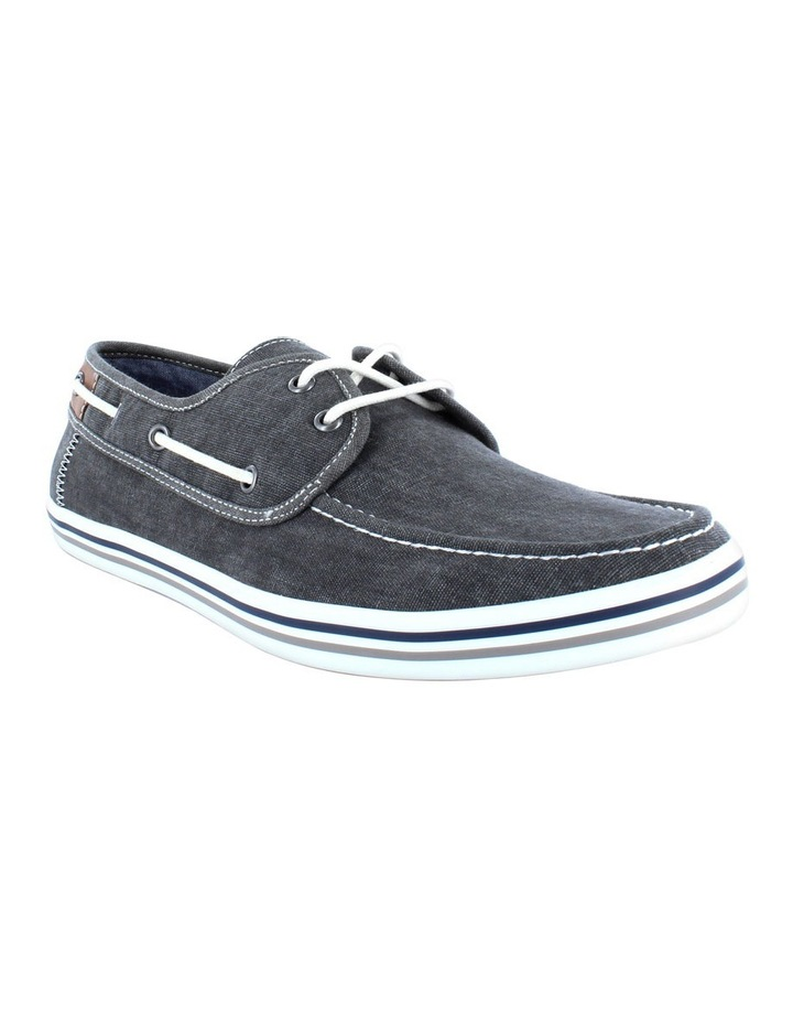 Mens Dustin Canvas Boat Shoe image 2