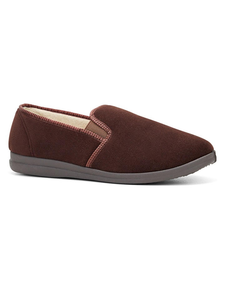 Percy Chocolate Gusset Slipper image 2
