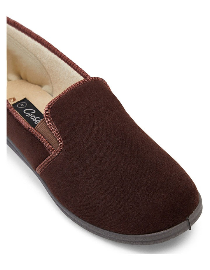 Percy Chocolate Gusset Slipper image 3