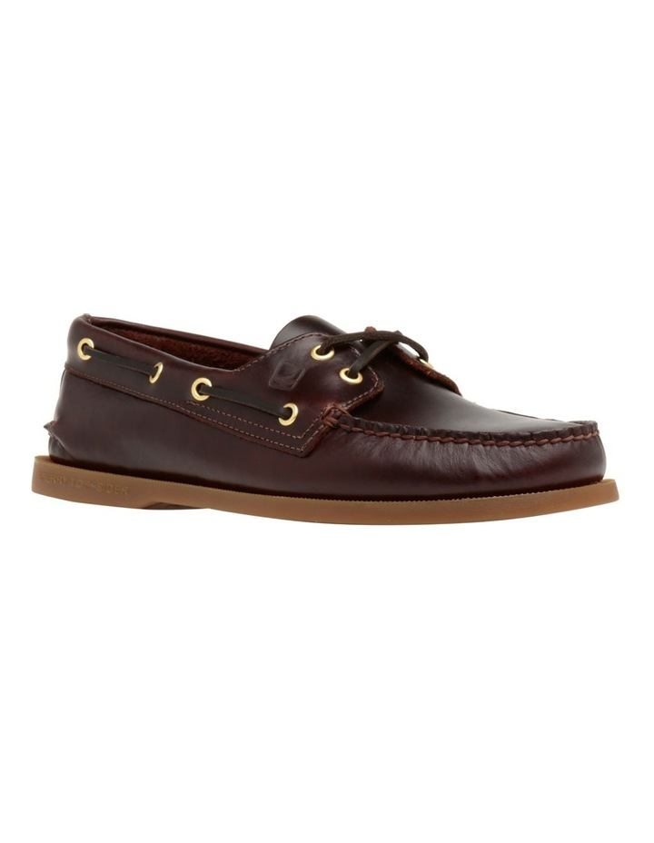 Authentic 2 Eye Boat Shoe- Amaretto image 2