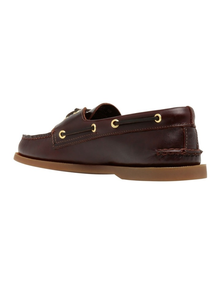 Authentic 2 Eye Boat Shoe- Amaretto image 3