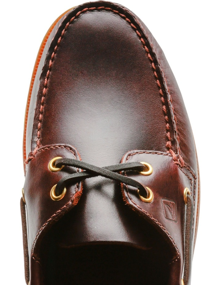 Authentic 2 Eye Boat Shoe- Amaretto image 4