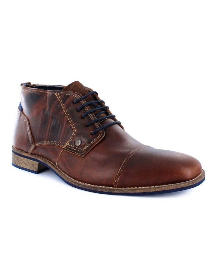 Digby Mens Casual Leather Ankle Boot image 2