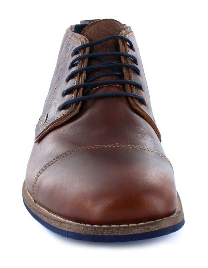 Digby Mens Casual Leather Ankle Boot image 3