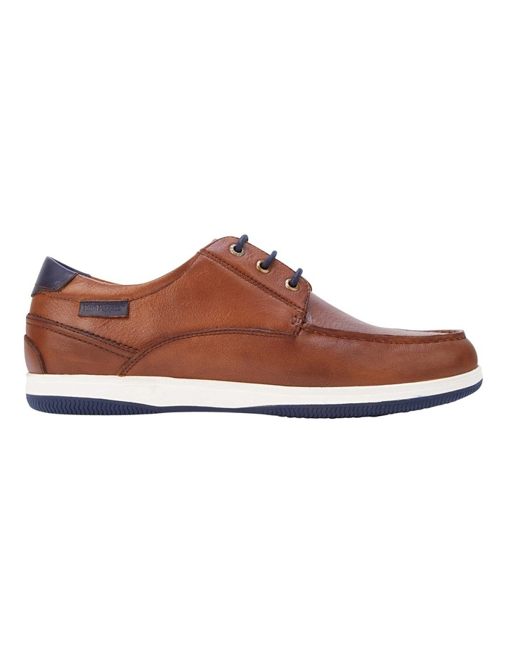 Dusty Dark Tan Leather Lace Up image 1