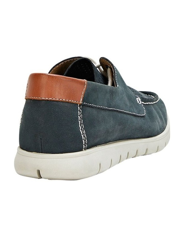 Theo Lace Up Navy image 2