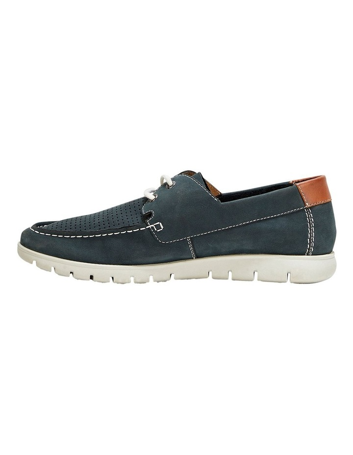 Theo Lace Up Navy image 3