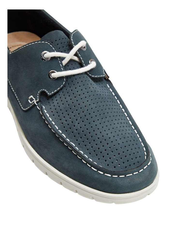 Theo Lace Up Navy image 4