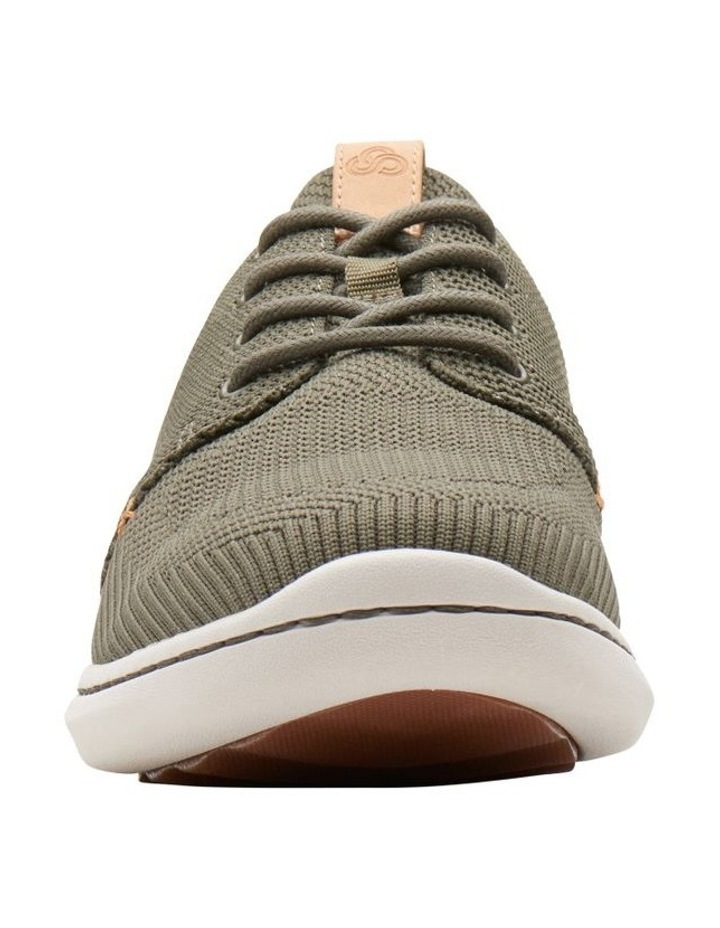 Step Urban Mix Khaki Textile Knit Sneaker image 3