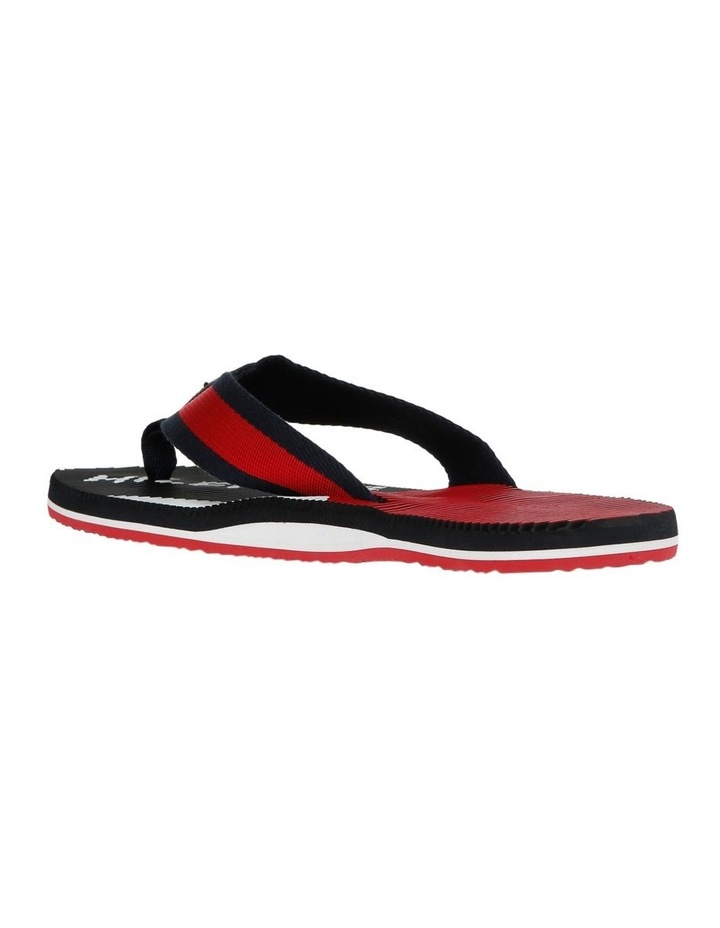 Tommy Logo Massage Footbed Beach Sandal image 2