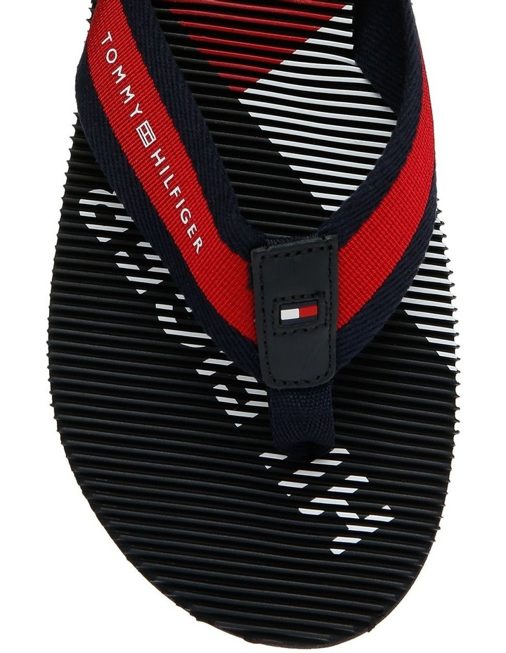 Tommy Logo Massage Footbed Beach Sandal image 3