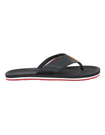 91a446d8d Tommy HilfigerStripe Leather Upper Beach Sandal. Tommy Hilfiger Stripe  Leather Upper Beach Sandal