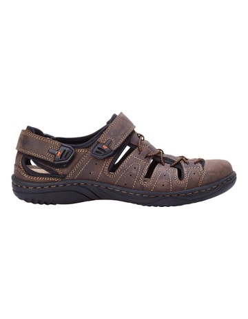 f63fec5a3d78 Hush Puppies Anderson Leather Sandal