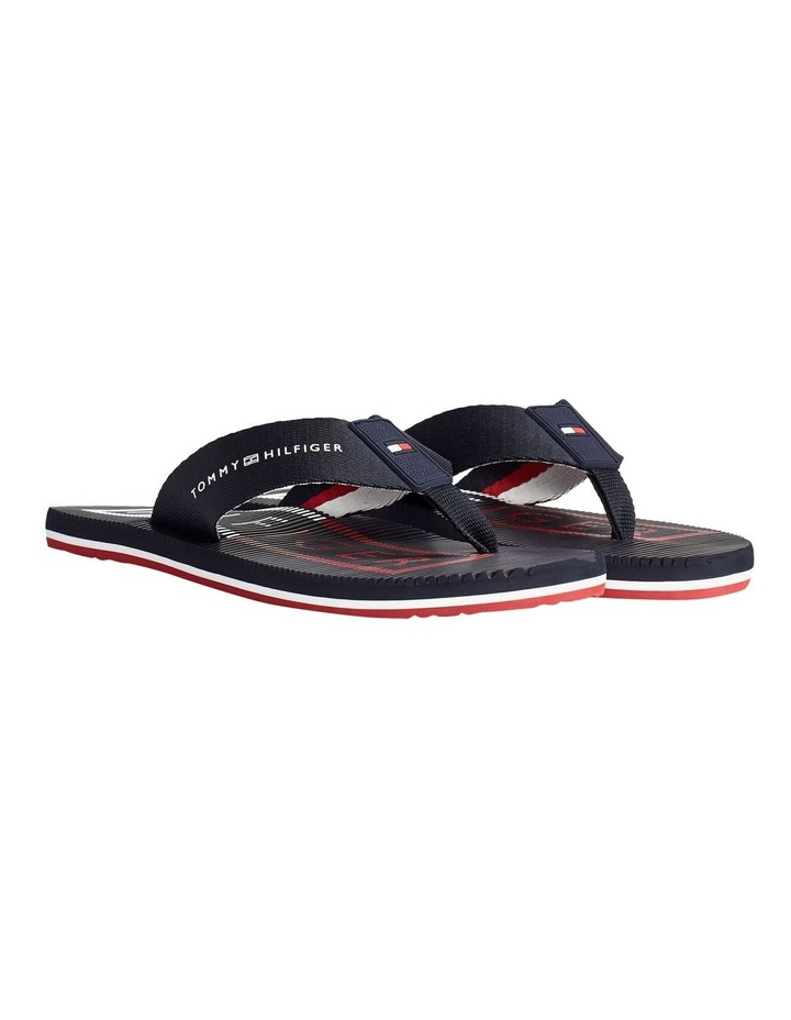 Colour-Blocked Moulded Footbed Beach Sandals image 1