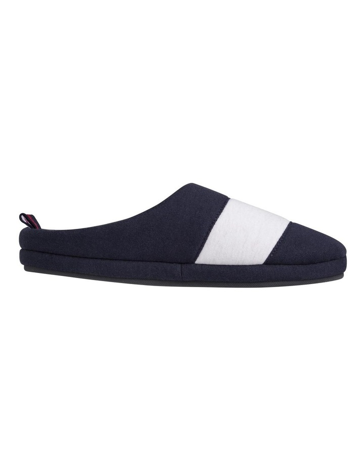 Colour-Blocked Cotton Slippers image 1