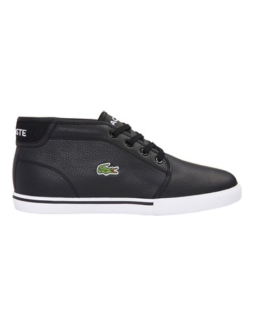 8c708f0c7 LacosteAMPTHILL LCR3 SPM LACE UP CHUKKA SNEAKER BLACK. Lacoste AMPTHILL LCR3  SPM LACE UP CHUKKA SNEAKER BLACK