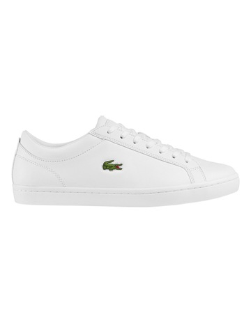 c32bfc4ce759e LacosteMen s Straightset Leather Trainers. Lacoste Men s Straightset  Leather Trainers