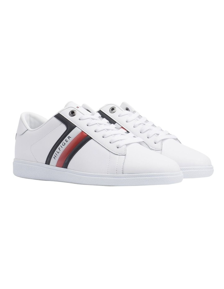 04e9edbe1320 Colour-Blocked Leather Trainers image 1