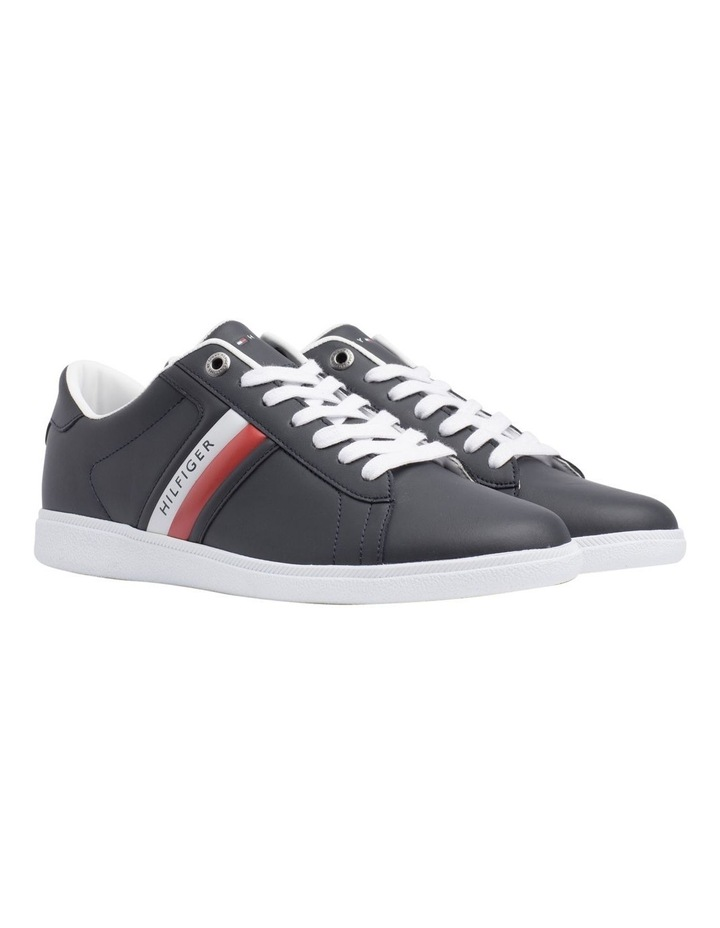 67480f184db7 Colour-Blocked Leather Trainers image 1